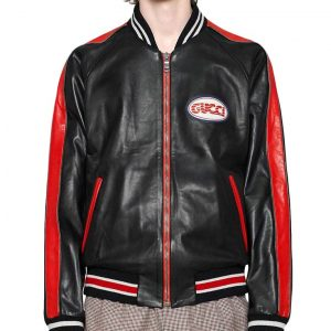 Mens Red and Black Jacket