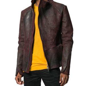 Mens Bordeaux Jacket